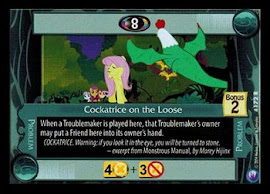 My Little Pony Cockatrice on the Loose Canterlot Nights CCG Card