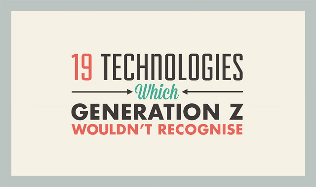 19 Technologies Which Generation Z Wouldn't Recognise