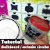 Adesivo chalkboard | Cortador circular | Tutorial | PAP