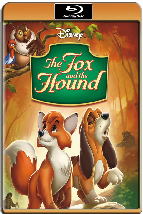 The Fox and the Hound [1981] 720p BR Rip x264 [AC-3] [HINDI – ENG] 800MB