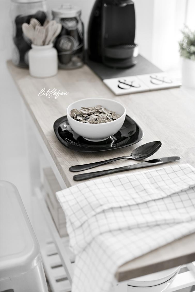 create a breackfast coffee zone - crear zona de desayuno y café