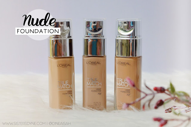 Loreal Paris True Match Nude Shades
