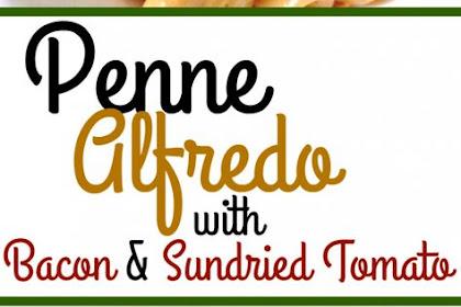 Garlic Penne Alfredo With Sun-dried Tomatoes
