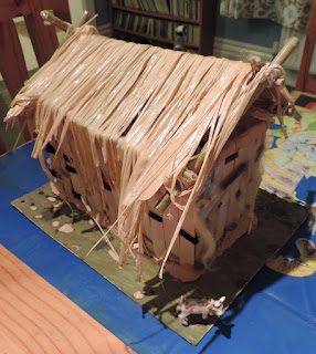 homework vikings longhouse home made