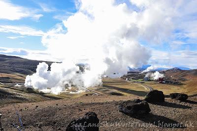 冰島, Iceland, Krafla克拉克火山區