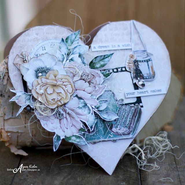 serce z kwiatami