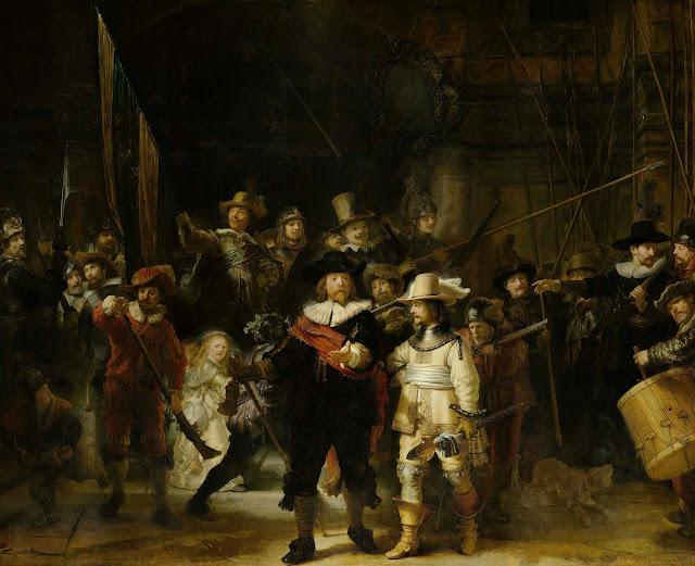 Ronda de noche – Rembrandt
