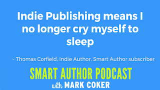 "image reads:  ""Indie publishing means I no longer cry myself to sleep"""