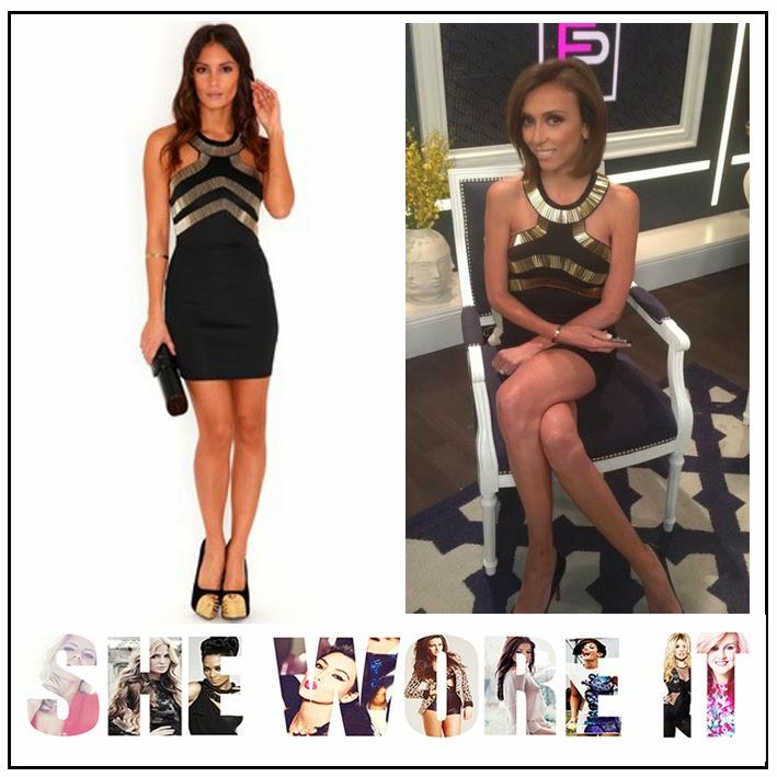 b4b6a5ef4470 Bead, Bead embellishments, Black, Cut Out, Dress, Embellishment, Gold, ...