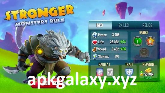 Monster Legends Mod Apk (Win With 3 Stars)