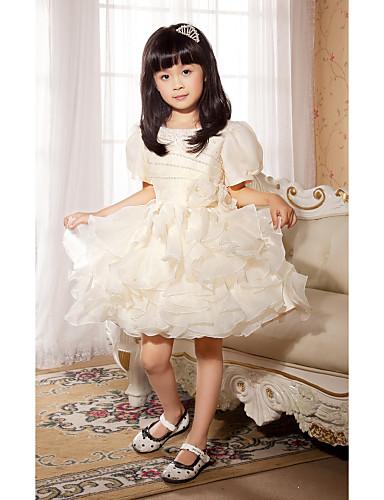 vestidos de comunion para niña Con encaje