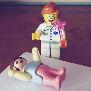 Doctor lego y paciente play móvil