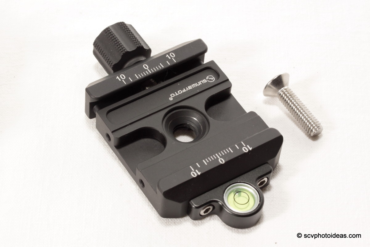 Sunwayfoto XB-44 QR clamp top