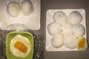 Tự Tay Làm Bánh Mochi Nhân Xoài Cực Ngon 5