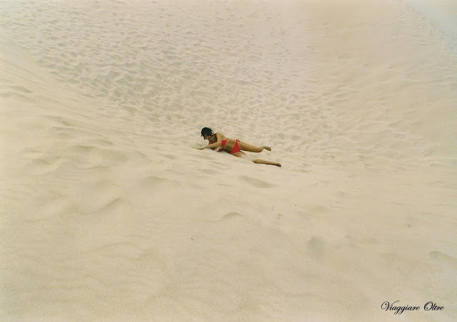 Rotolando sulle dune...