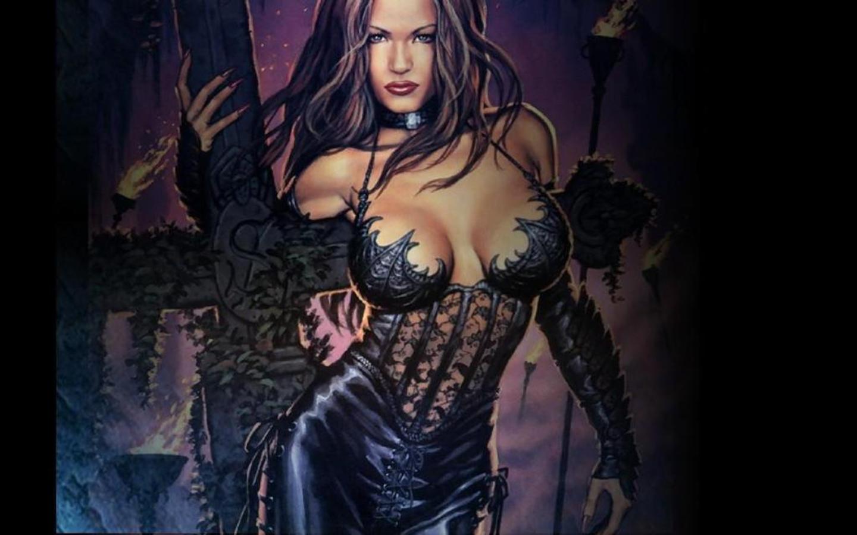 sexy gothic fairy wallpaper - photo #37