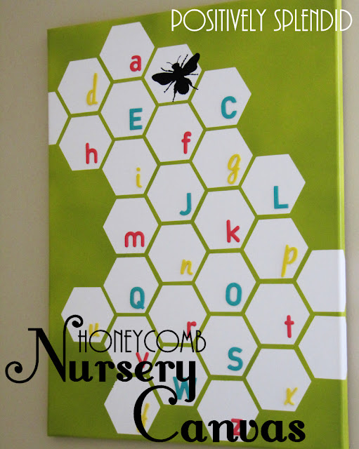 Baby Favor Honeycomb Nursery Wall Canvas Tutorial Crafts Ideas Crafts For Kids