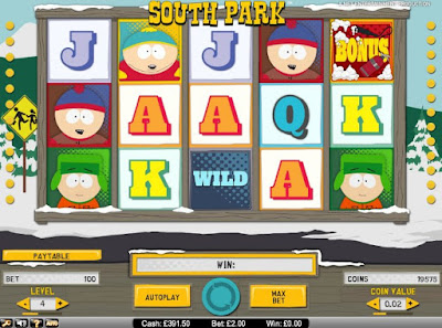 play free south park slot