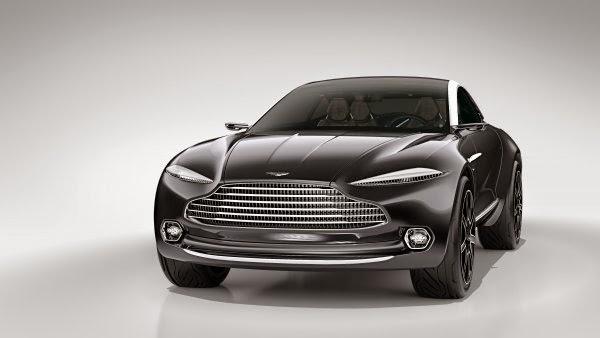 Aston Martin DBX Concept Photo Gallery