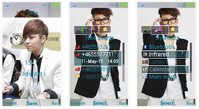 龍俊亨@BEAST SonyEricsson手機主題for Aino含多媒體﹝240x432﹞   索愛の手機主題