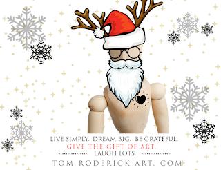 Hello December by Boulder artist Tom Roderick