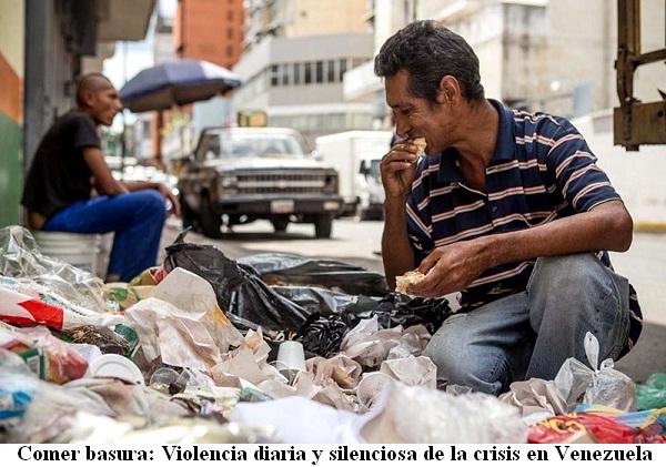 Resultado de imagen para imagenes de crisis economica en venezuela