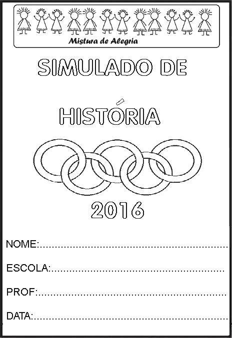 Favoritos SIMULADO DE HISTÓRIA SOBRE OS JOGOS OLÍMPICOS 2016, IMPRIMIR E  SU27