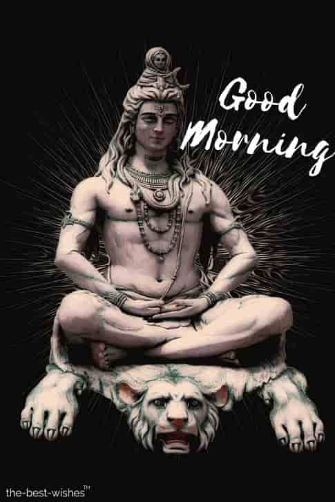 good morning images god shiva