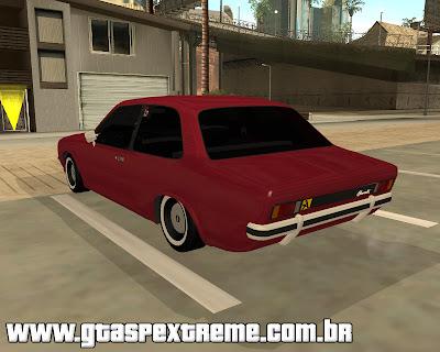 Chevrolet Chevette 76 na Fiixa para grand theft auto
