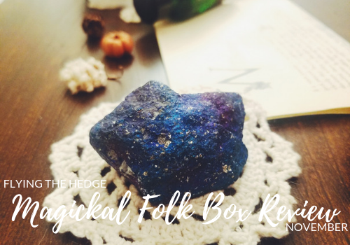 Magickal Folk Box Review: November