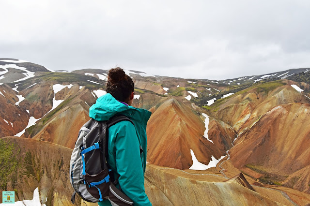 Bláhnúkur en Landmannalaugar, Islandia