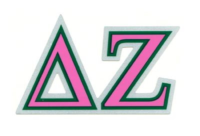 Delta Zeta Stickers   Delta zeta, Grad gifts, Zeta