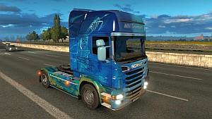 MM Transport Scania R skin + trailer