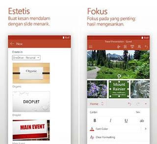 Microsoft Power Point - Aplikasi Slide Presentasi Android
