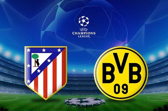 Atletico de Madrid vs Borussia Dortmund: Como Mirar EN VIVO el Juego Aquí