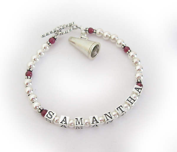 Cheer Charm Bracelets: Designs By Leigha Photo Gallery: Cheer Bracelet With Mega