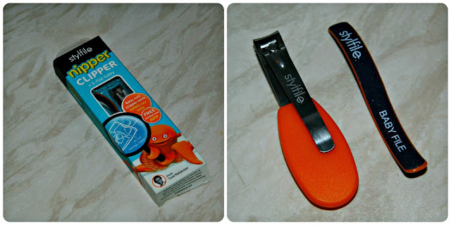 Nipper Clipper Stylfile baby nail clippers and file