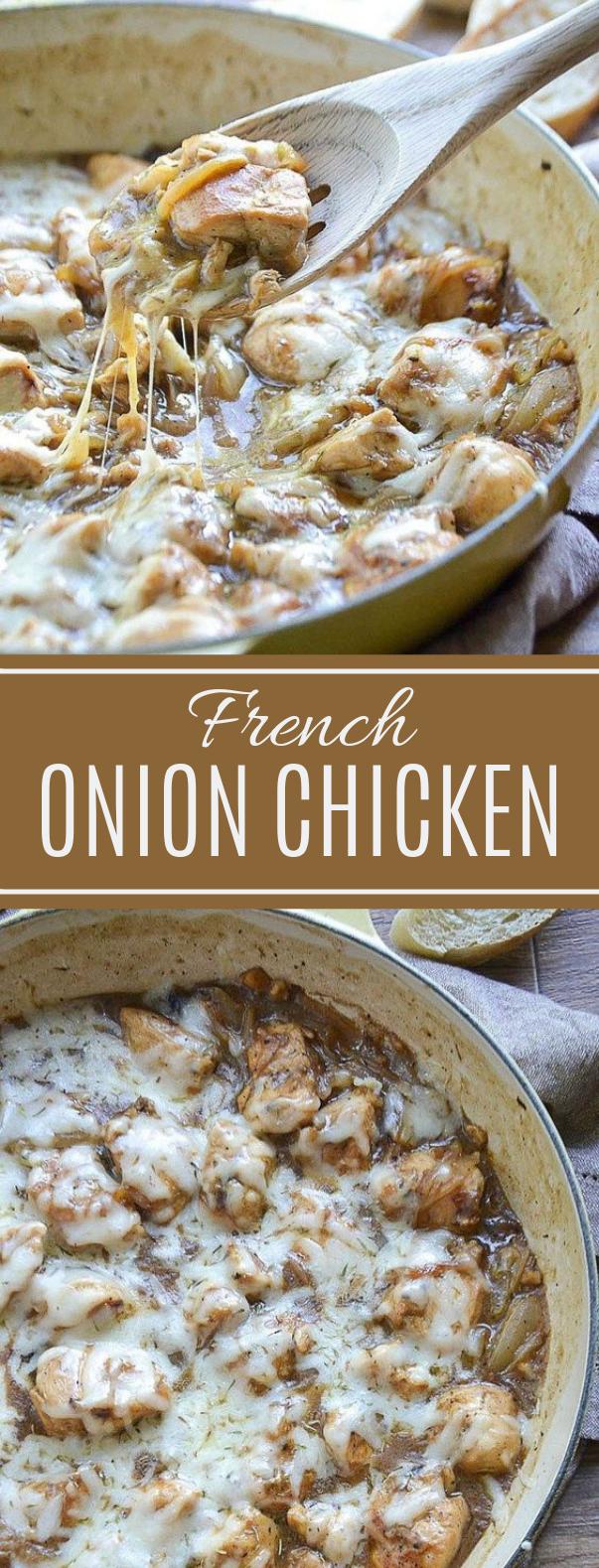 French Onion Chicken #maindish #dinner
