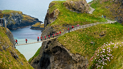 10. Carrick A Rede Rope Bridge, Northern Ireland