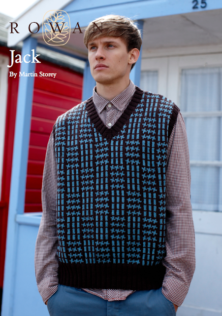 The Vintage Pattern Files: Free 1950's Knitting Pattern - Jack Men's Pullover