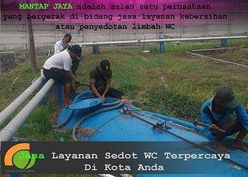 Jasa Sedot Tinja Area Lakarsantri Surabaya Murah