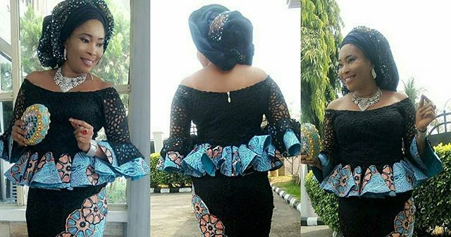 Creative And Mesmerising Ankara Plus Lace Styles 2018 For