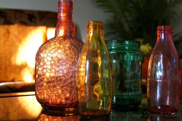 Stained Glass Bottles