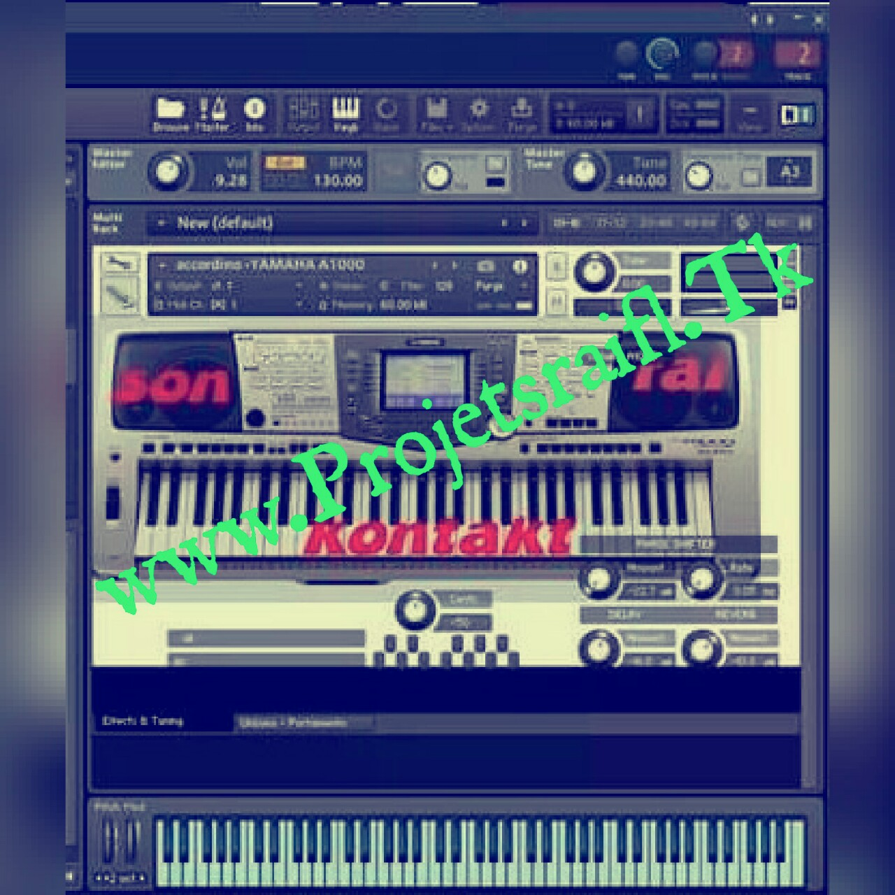 kontakt 5 fl studio 12 rai