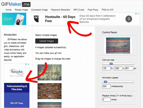 Contoh Alat Online dipasangi Google adsense