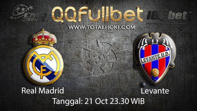 Prediksi Bola Jitu Real Madrid vs Levante 21 September 2018 ( Spanish La Liga )