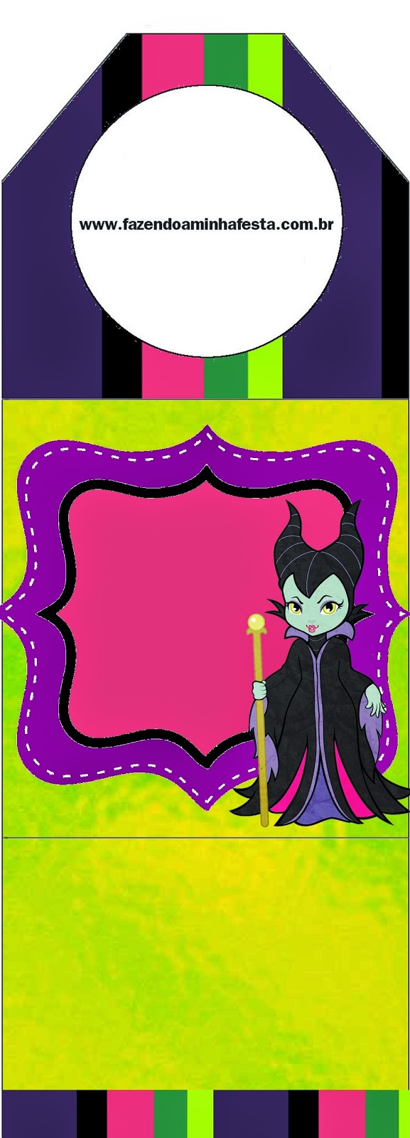 Maleficent Baby Free Party Printables. | Oh My Fiesta! in english