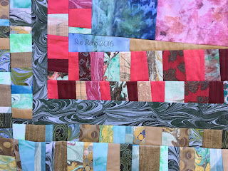 Late Summer Roses by Sue Reno, WIP20