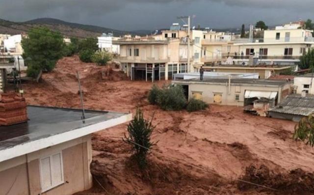 Ο Δήμος Άργους Μυκηνών κοντά στους πλημμυροπαθείς στη Μάνδρα Αττικής