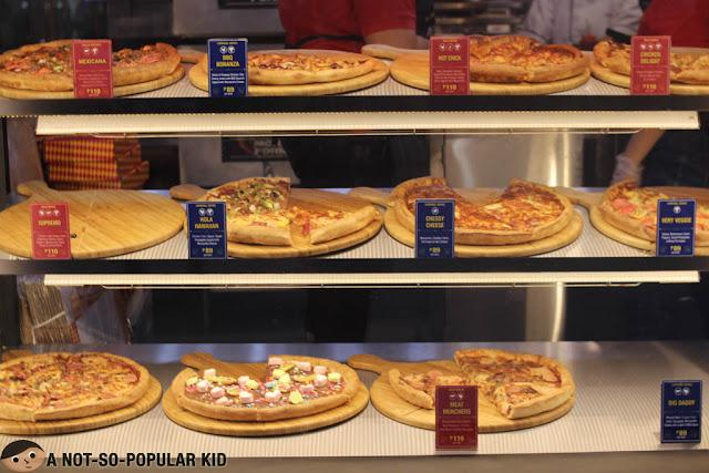 Pezzo Pizza Flavors